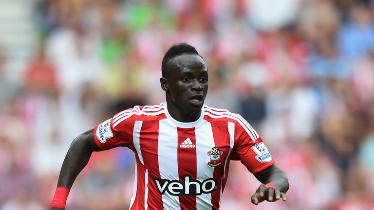 Sadio Mane at Southampton