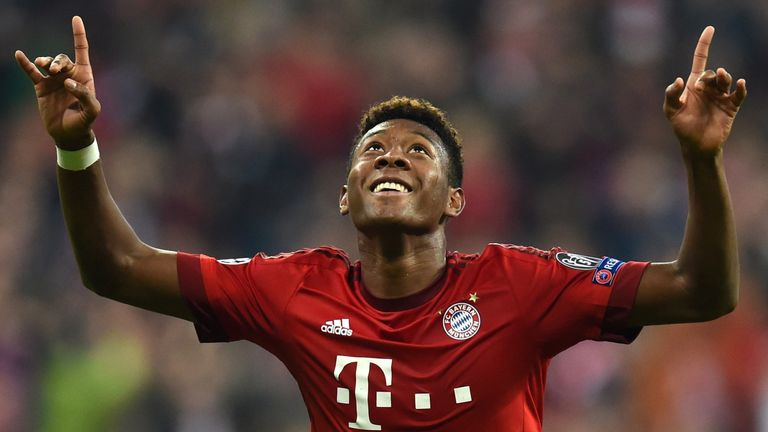 David Alaba will be a key figure for Austria