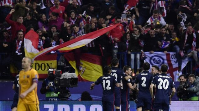 Atletico Madrid ended a run of seven consecutive defeats to Barcelona