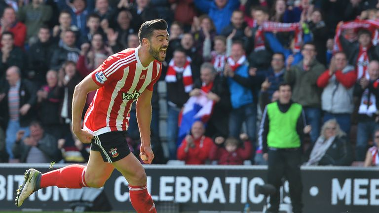 Southampton striker Graziano Pelle was named in Italy's squad