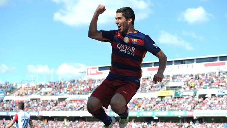 Luis Suarez is in line to take on Liverpool at Wembley