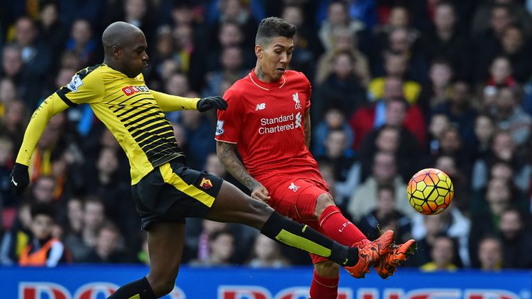 Watford beat Liverpool at Vicarage Road last season