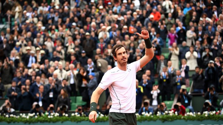 Image result for Andy Murray is among the five greatest tennis players of all time