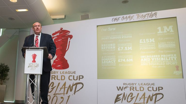 England to bid for 2021 Rugby League World Cup Rugby