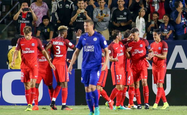 Psg 4 Vs 0 Leicester City International Champions Cup 2016 ...