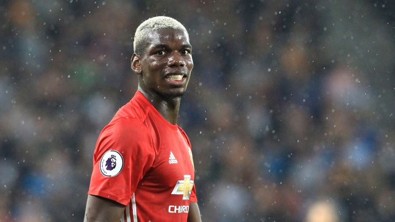 Paul Pogba joined Manchester United in a record-breaking £89m deal