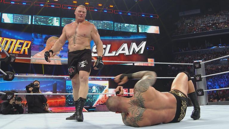 wwe summerslam brock lesnar