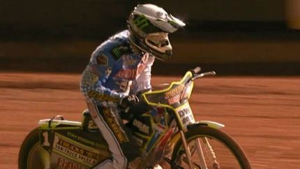 Chris Holder starred for Poole in their win at King's Lynn