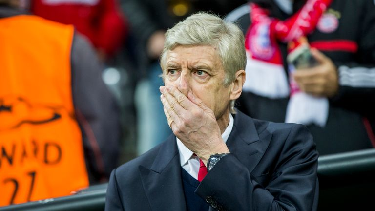 Wenger admitted the last 25 minutes of Arsenal's defeat at Bayern Munich was a nightmare