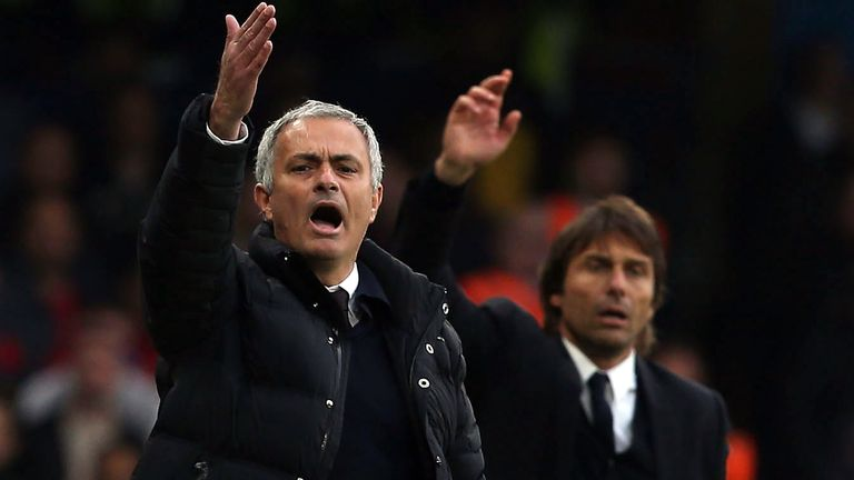 Jose Mourinho and Antonio Conte are both on the Manager of the Month shortlist for April