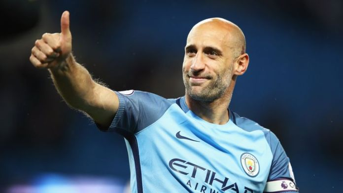 Pablo Zabaleta is in final negotiations to join West Ham