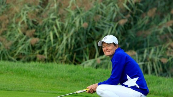 Matthew will make a ninth Solheim Cup appearance this week