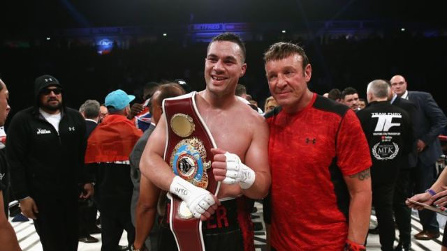 Joseph Parker defeated Hughie Fury on his UK debut in September