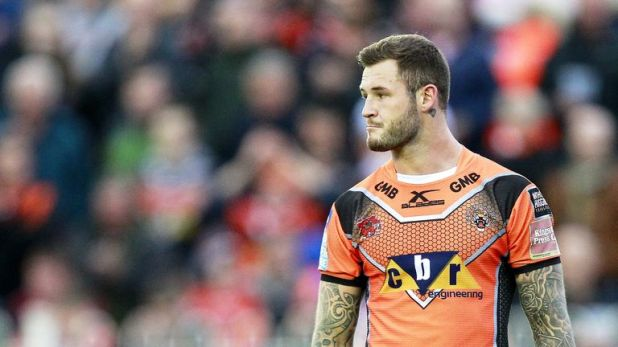 Zak Hardaker joined Wigan in May following his sacking by Castleford