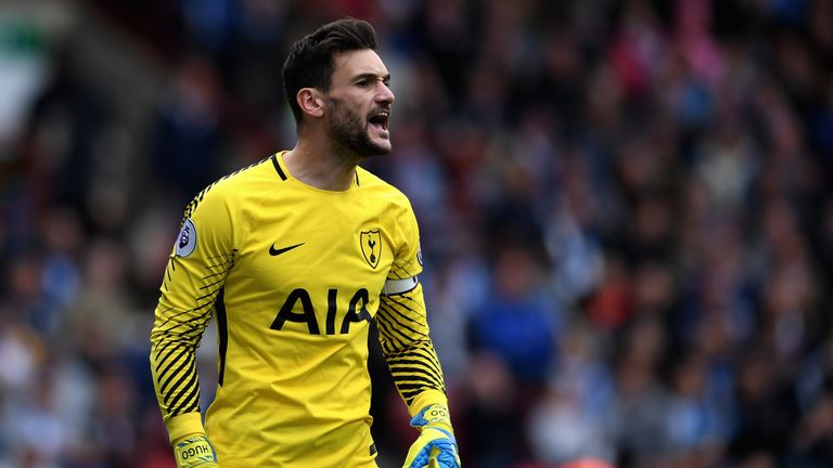 Hugo Lloris will be out for around two weeks with a groin strain, according to France head coach Didier Deschamps