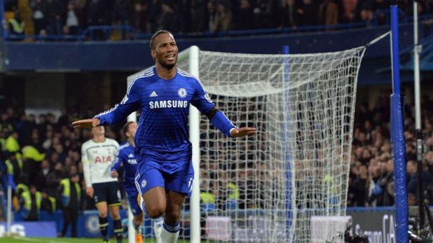 Didier Drogba scored 164 goals in 381 games for Chelsea in all competitions