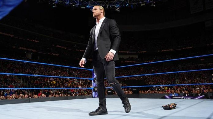 Dolph Ziggler dropped his United States title in the ring and left SmackDown