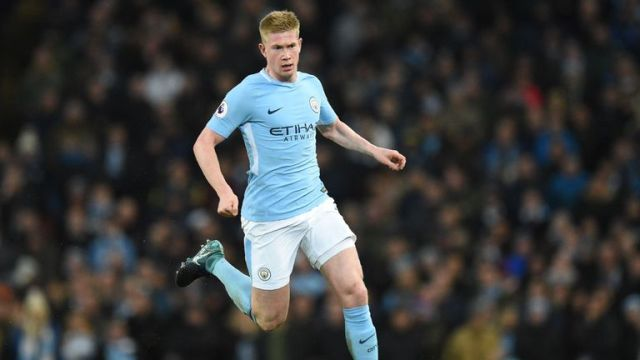 Kevin De Bruyne orchestrates things for Man City