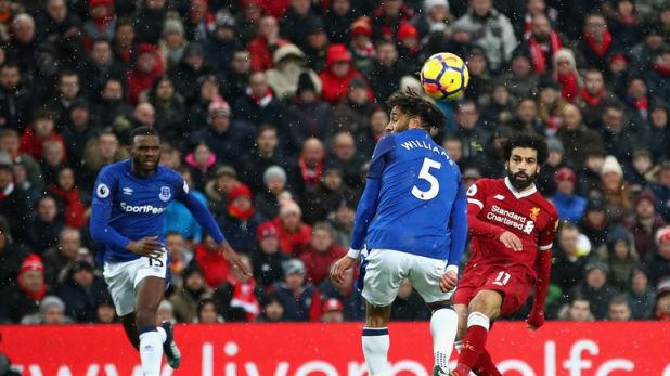 The forward scored against Everton in last season's Premier League meeting at Anfield