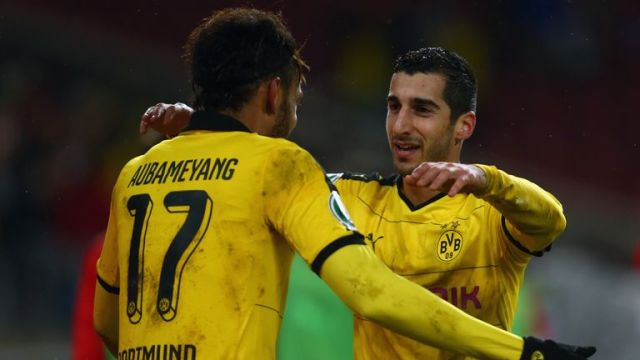 Both players were also team-mates at Dortmund