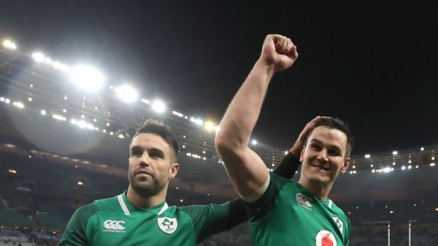 Murray (left) and Johnny Sexton have formed a world class partnership at half-back for Ireland