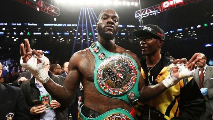 Deontay Wilder will WBC-Gürtel gegen Dominic Breazeale verteidigen