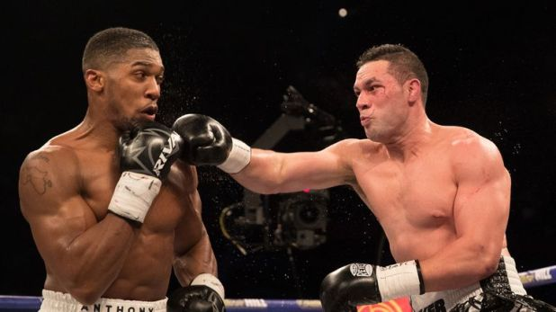 The New Zealander was beaten on points by Joshua at Cardiff in March