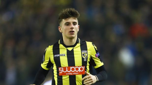 Mason Mount thrived at Vitesse and now finds himself in the England squad