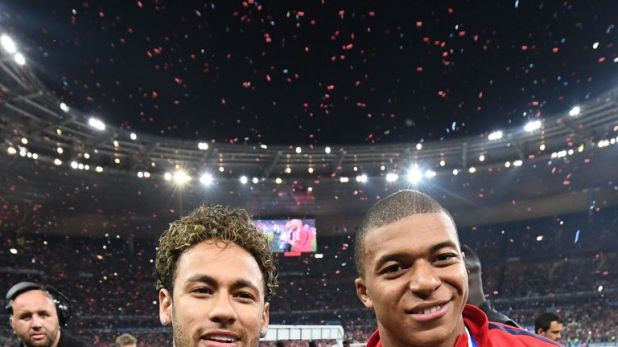 Neymar and Kylian Mbappe cost PSG a combined total of £366m
