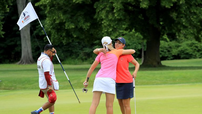 Kristen Gillman follows Stacy Lewis (2008) and Bronte Law (2016) as the only players to have won all five matches in a Curtis Cup