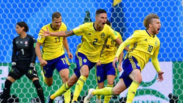 Sweden have won three of their four World Cup games so far