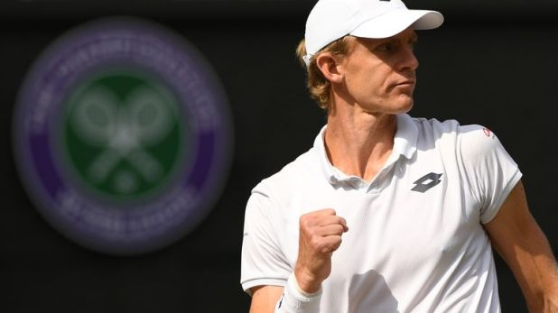 Kevin Anderson will player either Rafael Nadal or Novak Djokovic in Sunday's final