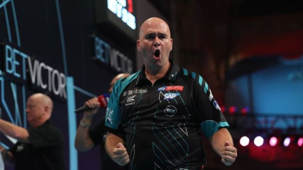 Rob Cross continued his fine form to make the next round