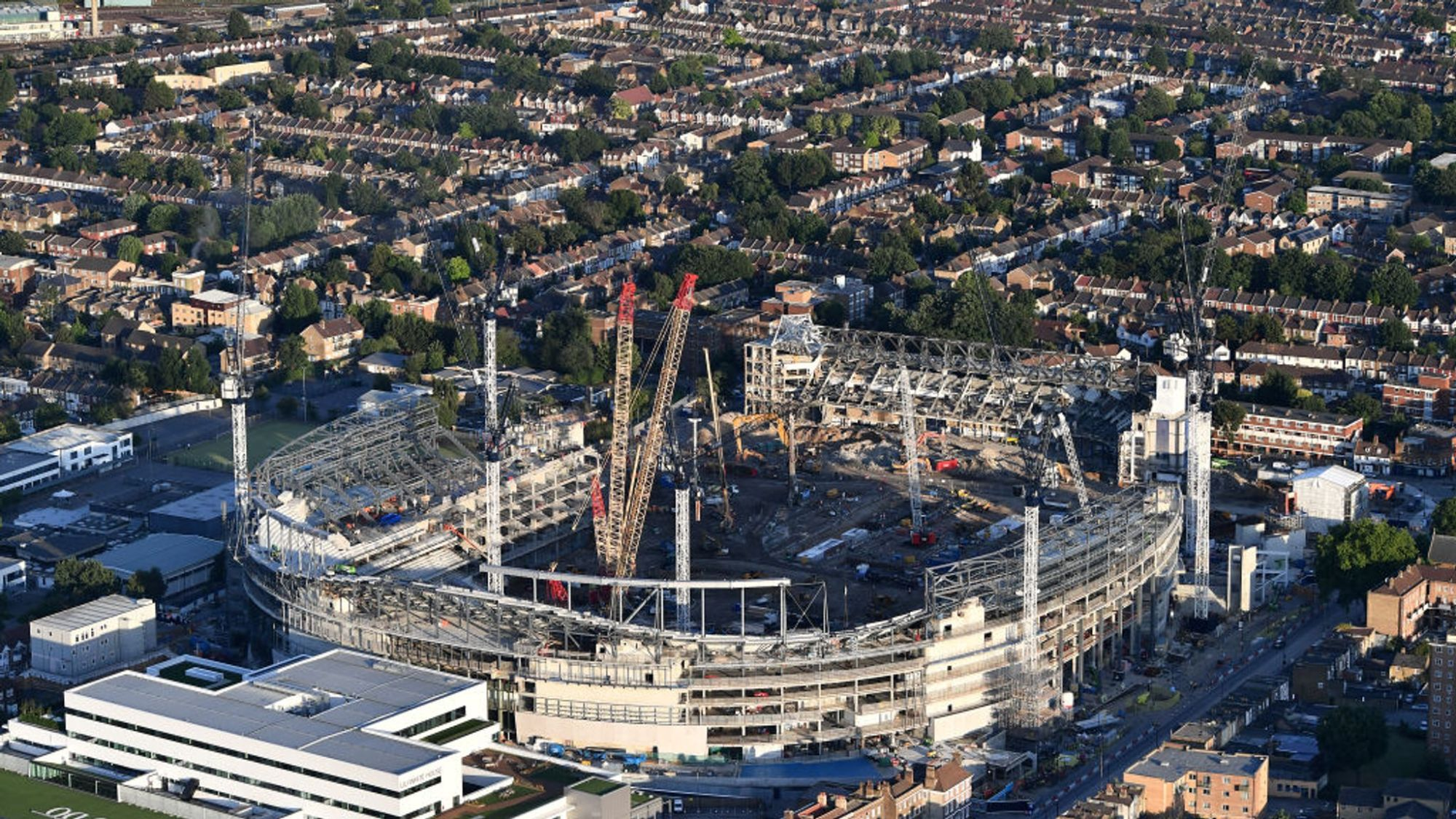 hight resolution of tottenham stadium delay down to faulty wiring says mace