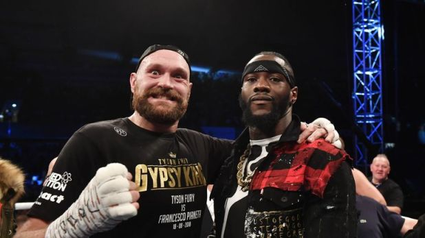 Fury and Wilder initially agreed to the fight in August