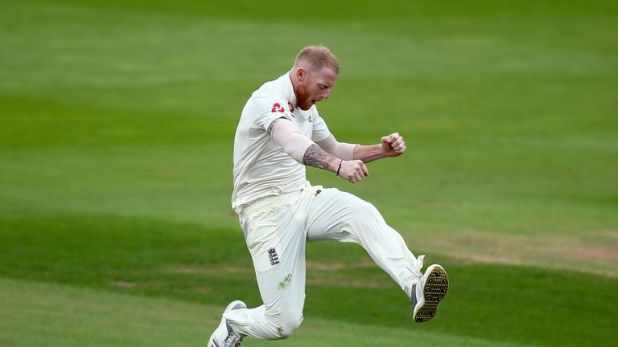 Ben Stokes removed Hanuma Vihari to leave England needing just five wickets
