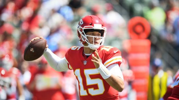 Mahomes tossed four touchdowns and showed his tremendous potential