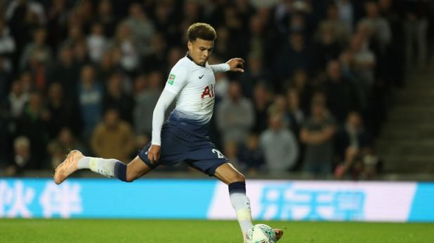 Alli scored from the spot during the game, before hitting home the winning penalty
