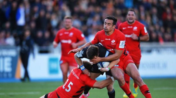 Lozowski was suspended for a dangerous entrance to a ruck during Saracens' Champions Cup victory over Glasgow