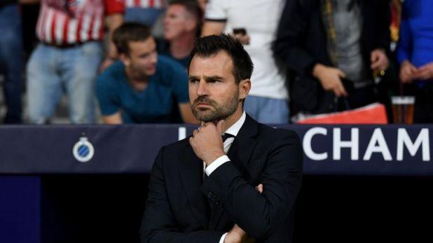 Club Brugge coach Ivan Leko spoke to investigators on Thursday