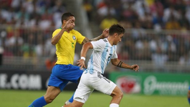 Danilo was forced off with an ankle problem in Brazil's friendly against Argentina