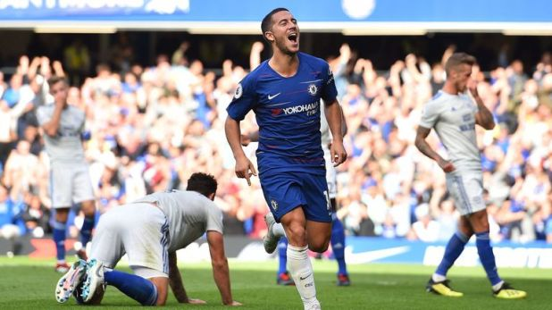 Chelsea and Eden Hazard remain unbeaten in all competitions this season