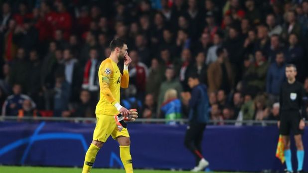 Hugo Lloris was sent off against PSV last time out and will be suspended for the reverse fixture