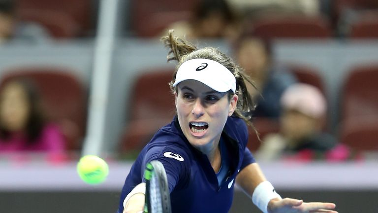 Johanna Konta Through To Semi Finals Of Kremlin Cup In Moscow