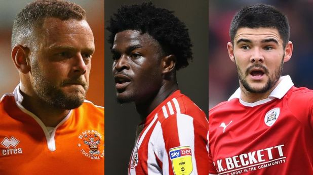 Jay Spearing, Josh Maja and Alex Mowatt feature in the League One Team of the Season so far