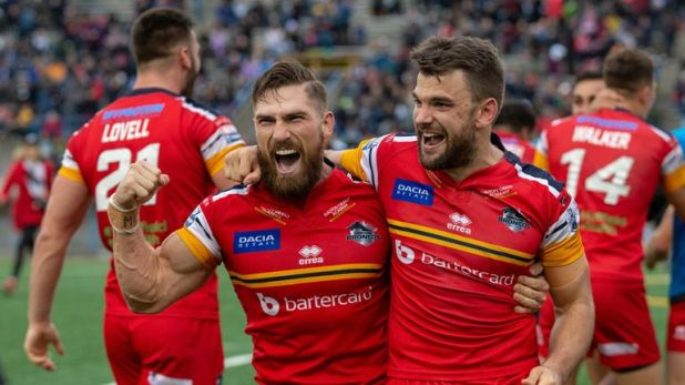 Jarrod Sammut (left) says his move to Wigan is a 'massive opportunity'