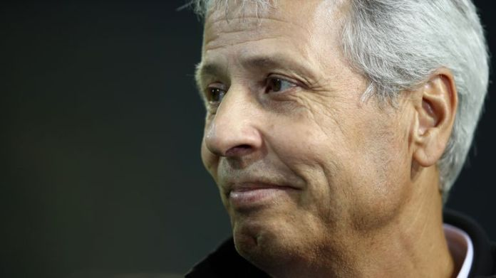 Lucien Favre has led Borussia Dortmund to the top of the German league
