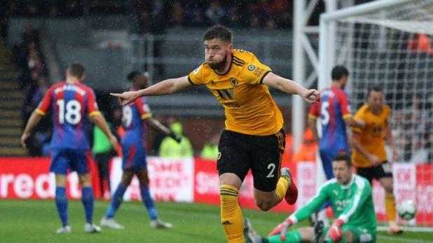 Matt Doherty has been a key player for Wolves on their Premier League return