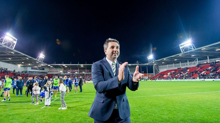 Warrington boss Steve Price has history against Wigan from his time in the NRL