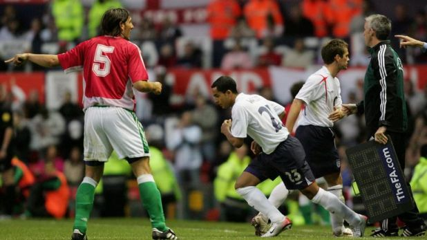 Walcott replaced Owen to become England's youngest ever player in 2006 - and still holds the record